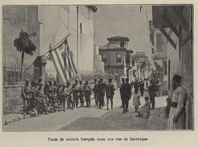 Entree des Allies a Salonique