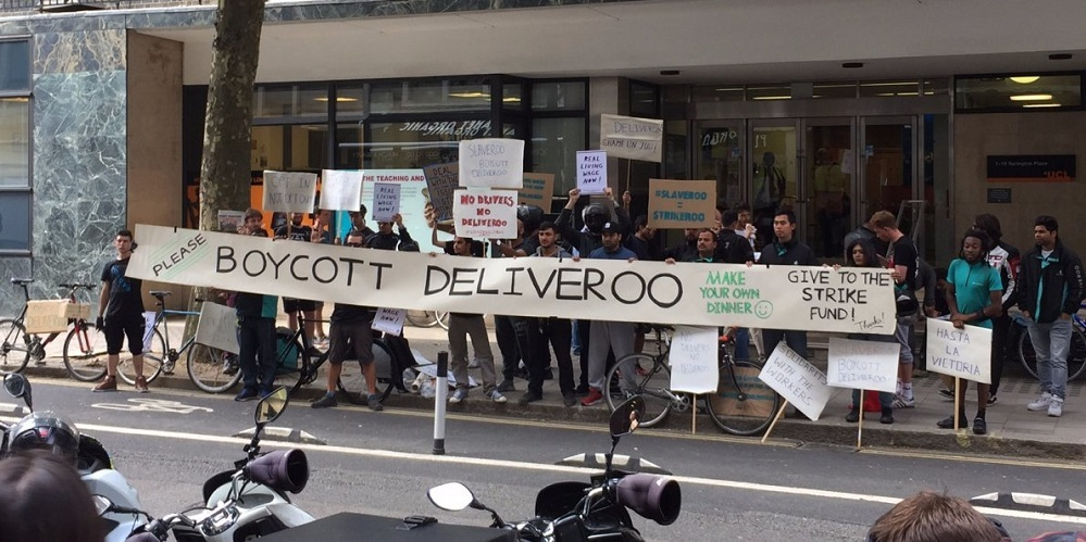 13 the deliveroo strike is over as the company abandons plans to force couriers into signing new contracts