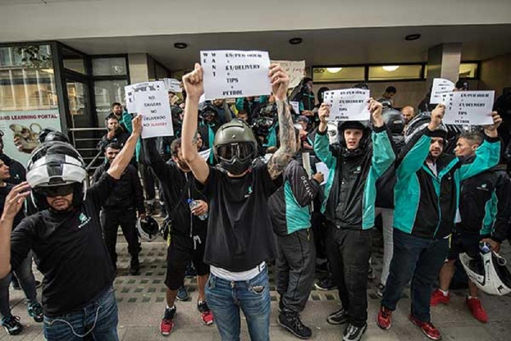 8 DeliverooStrikeProtest11 8 16 11