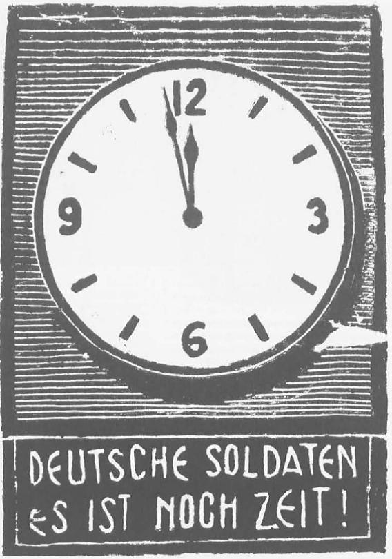 1 Γερμανοί στρατιώτες υπάρχει ακόμα καιρός Προκήρυξη του ΕΛΑΣ