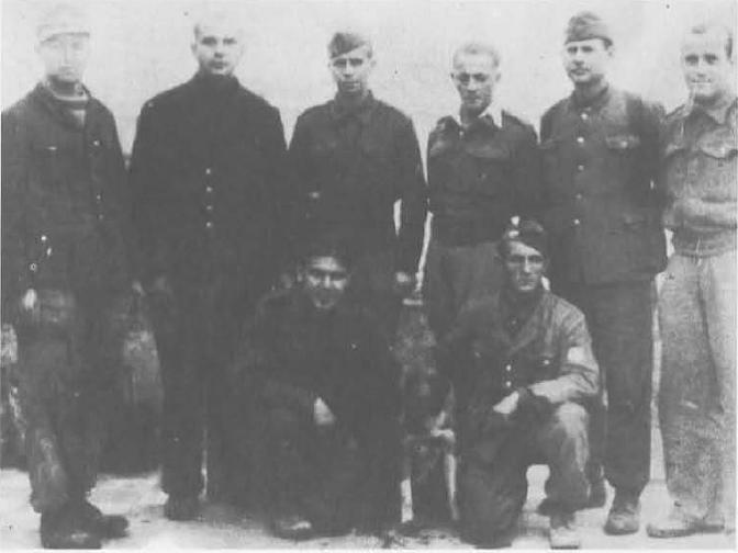 6 Στελέχη της αντιφασιστικής επιτροπής Ελεύθερη Γερμανία ΑΕΕΓ