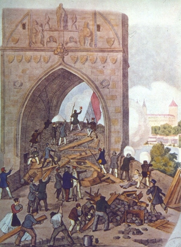 Prague insurrection 1848