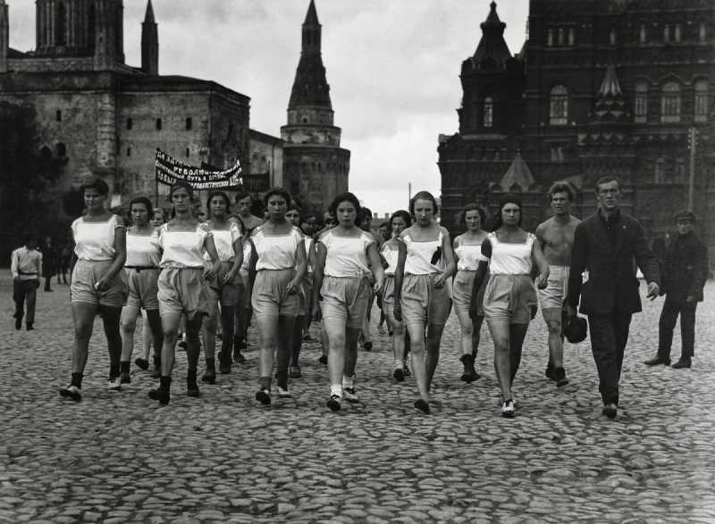 3 Arkady Shaikhet Sport Parade 1924