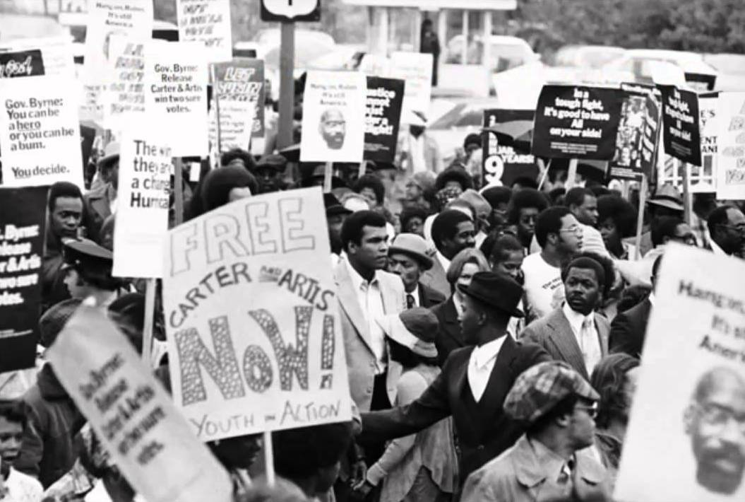 Anti war protest. Muhammad Ali
