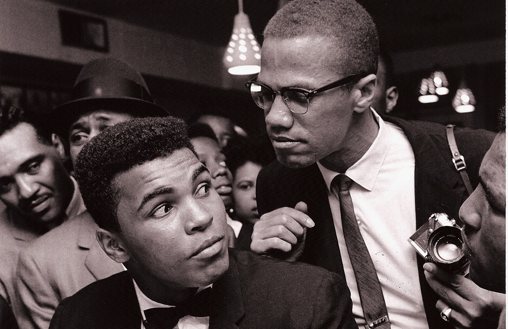 Malcolm X and Muhammed Ali