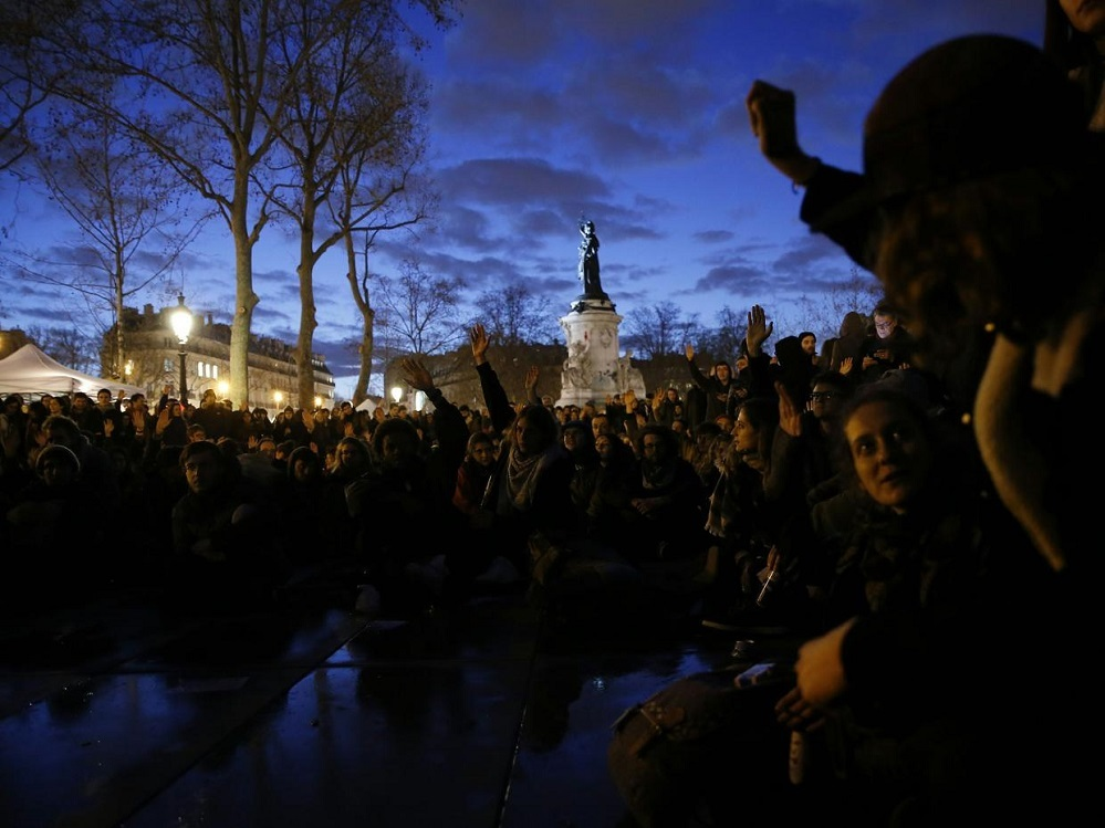 8 nuit debout paris protest