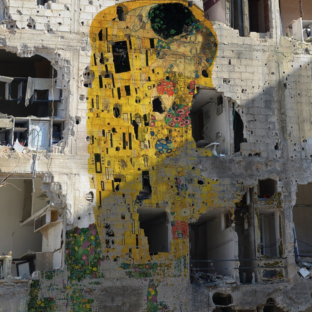 Tammam Azzam The Kiss