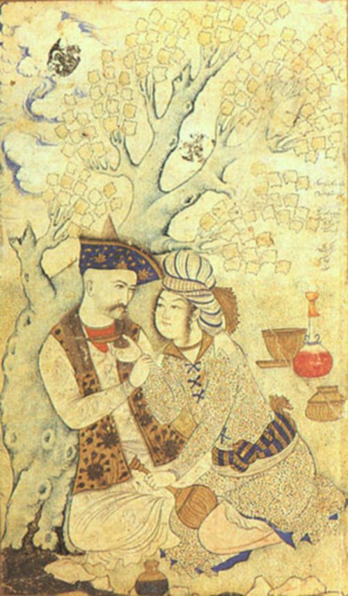 3 Shah Abbas and Wine Boy