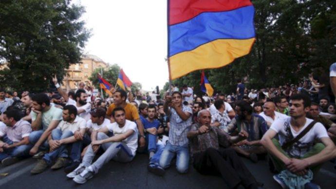 armenia protests energy prices si
