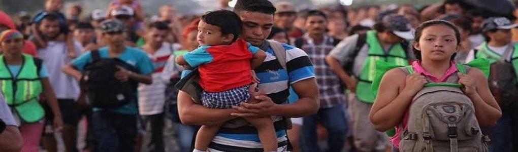 Αλληλεγγύη στο καραβάνι μεταναστών από την Λατινική Αμερική που κατευθύνεται προς τις ΗΠΑ