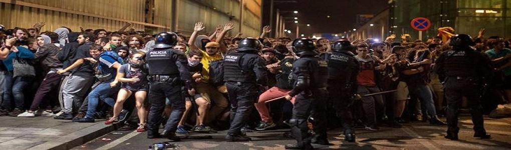 Να υπερασπιστούμε τα δημοκρατικά δικαιώματα του καταλανικού λαού ενάντια στις άδικες καταδίκες και ενάντια στην καταστολή