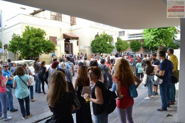 Μαζικά και μαχητικά το εκπαιδευτικό κίνημα, διαδήλωσε στην Καλλιθέα.