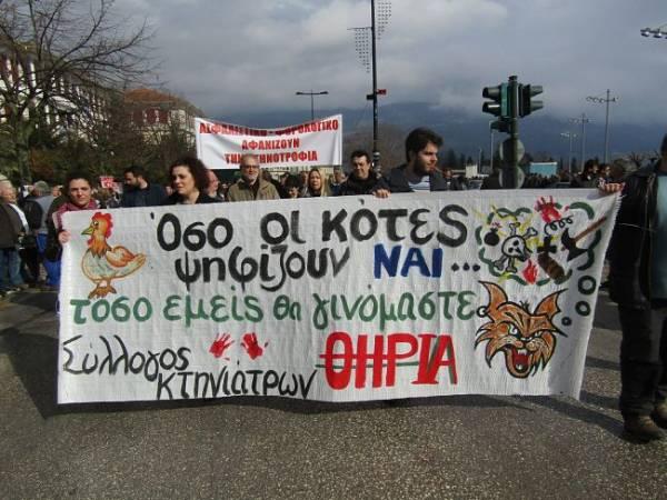 Γενική Απεργία 4/2: Μεγάλες συγκεντρώσεις σε Γιάννενα, Καστοριά, Ξάνθη, Λαμία, Σπάρτη, Ηράκλειο Κρήτης, Αμοργό, Μυτιλήνη, Τρίκαλα -φωτορεπορτάζ