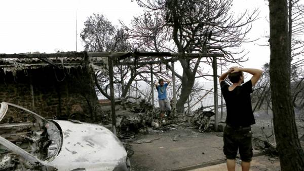 "ANTARSYA: Greek wildfires: ""Asymmetric Threat"" for people and the environment is the capitalist development as shown by disastrous fires"