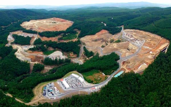 Με την «επένδυση» σε εκκρεμότητα, η Εldorado εκχερσώνει το δάσος #skouries
